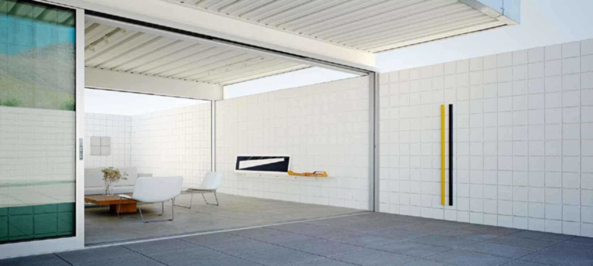 Desert House - interior/exterior