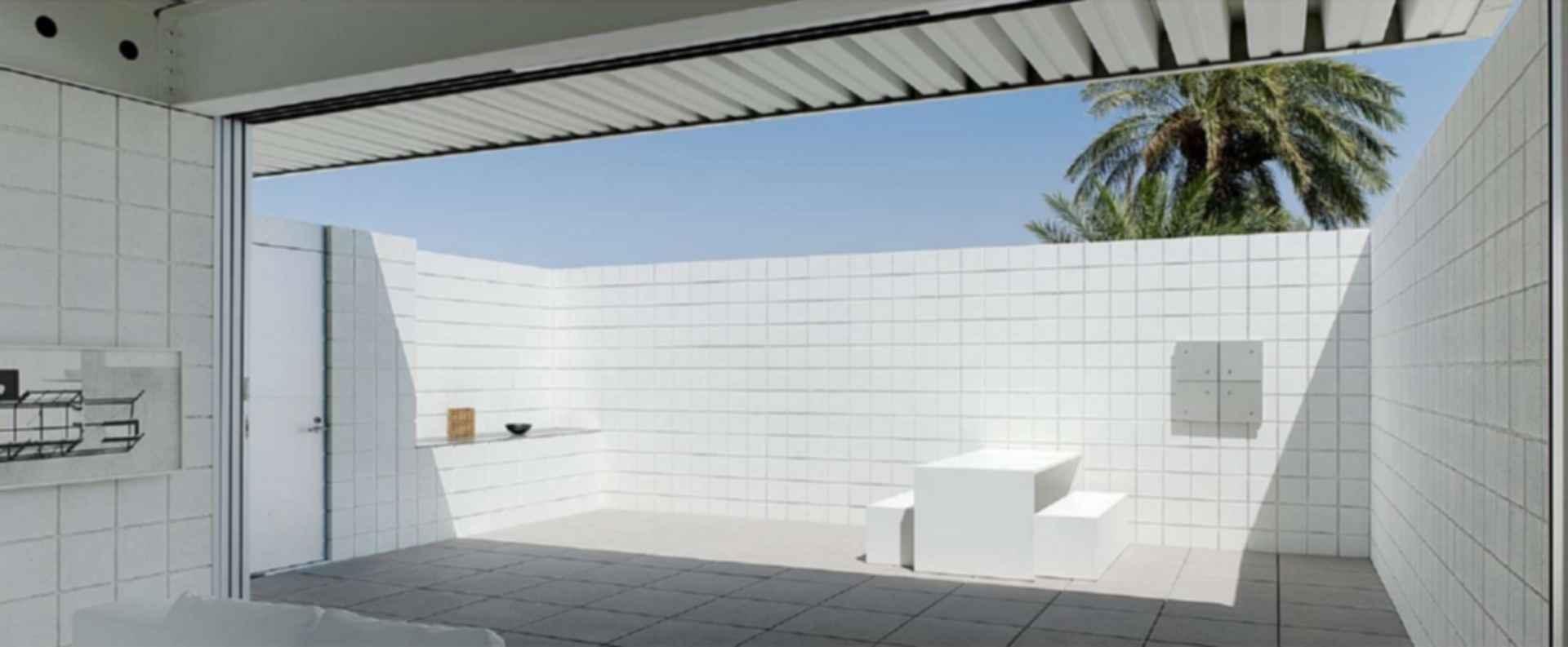 Desert House - exterior/patio