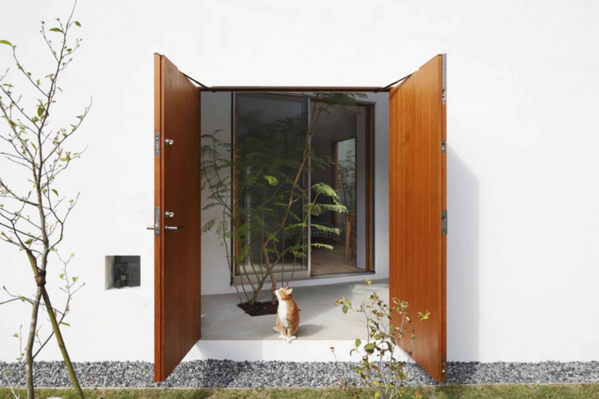 Inside Out - exterior/entrance