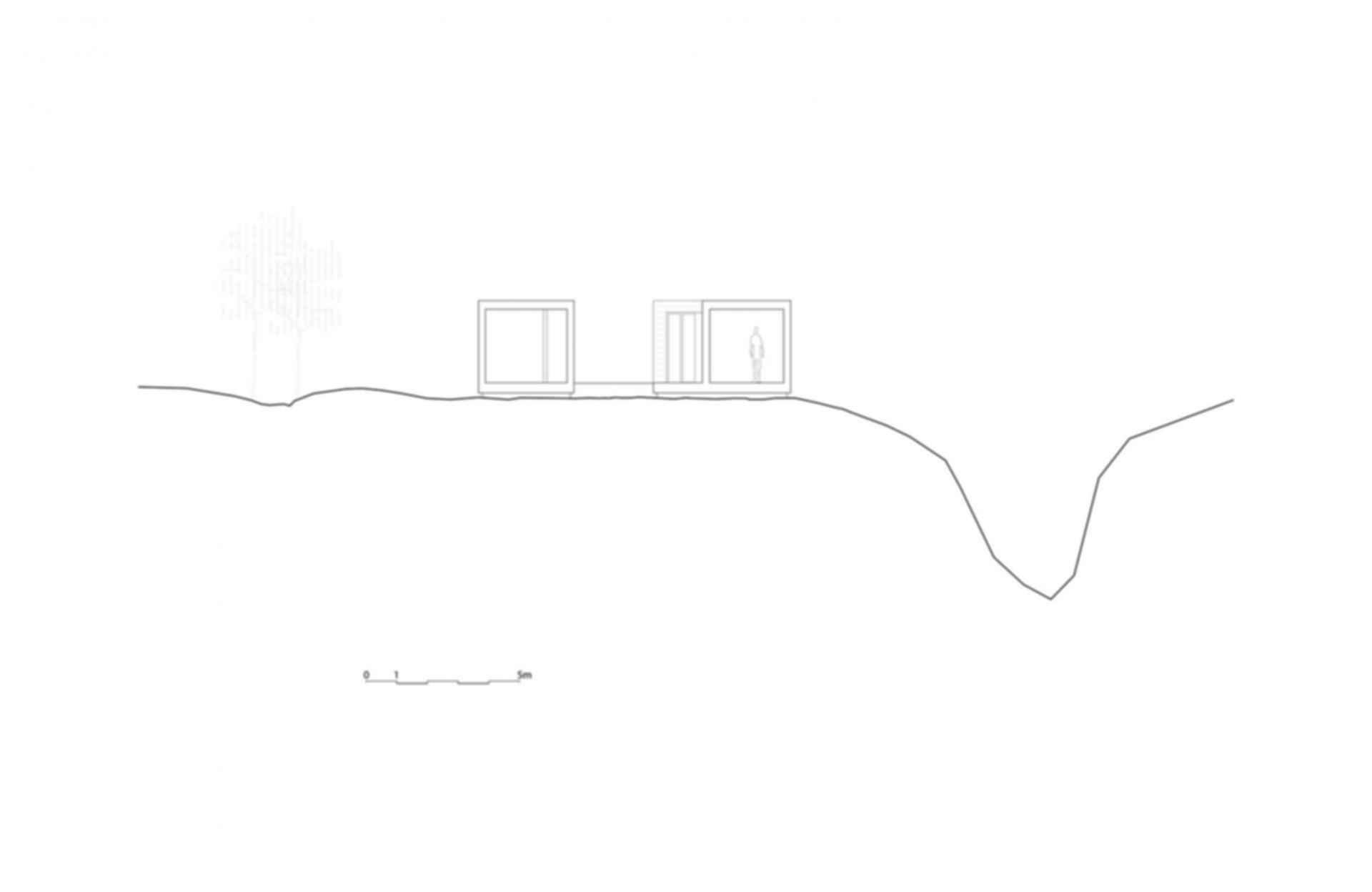 Summerhouse Inside Out Hvaler - floor plan