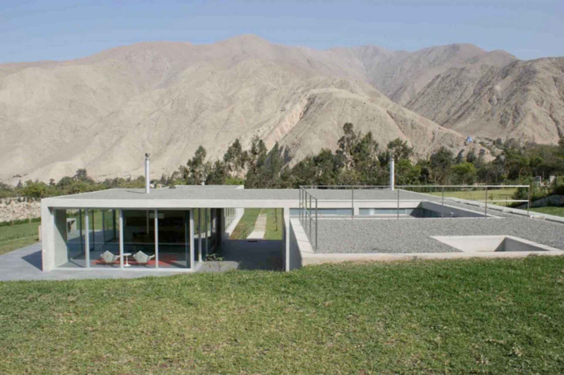 House on The Andes -exterior