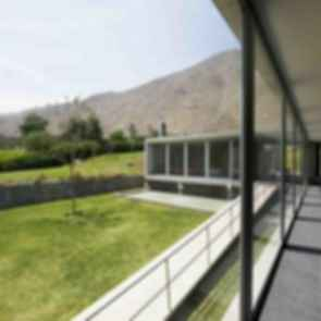 House on The Andes - interior/exterior