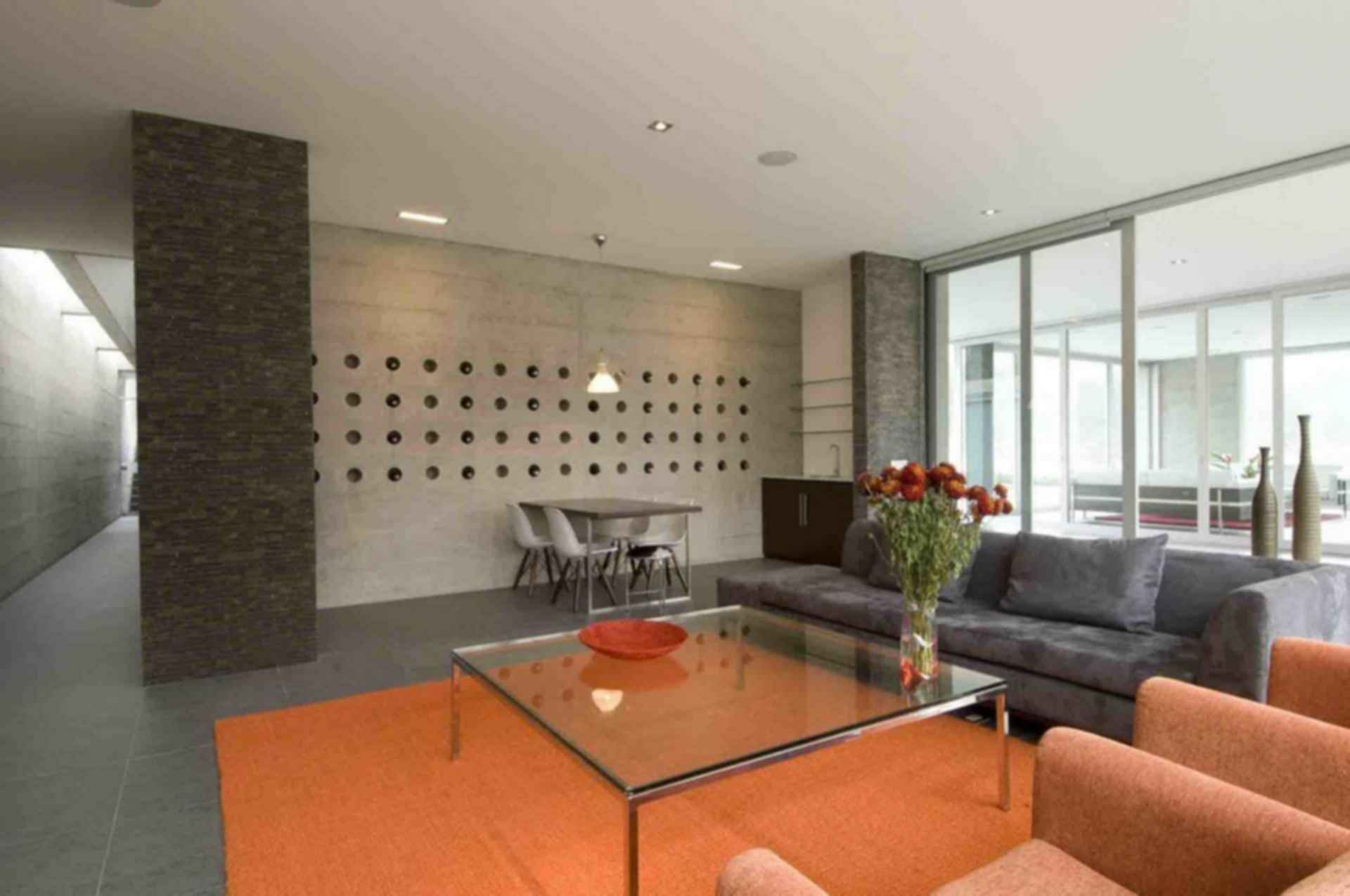 House on The Andes - interior/lounge