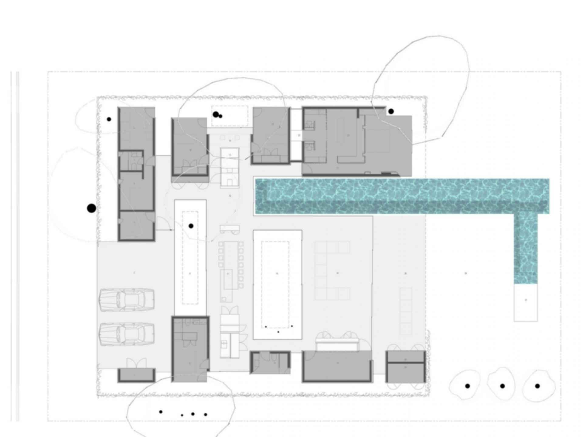 INOUT House - floor plan