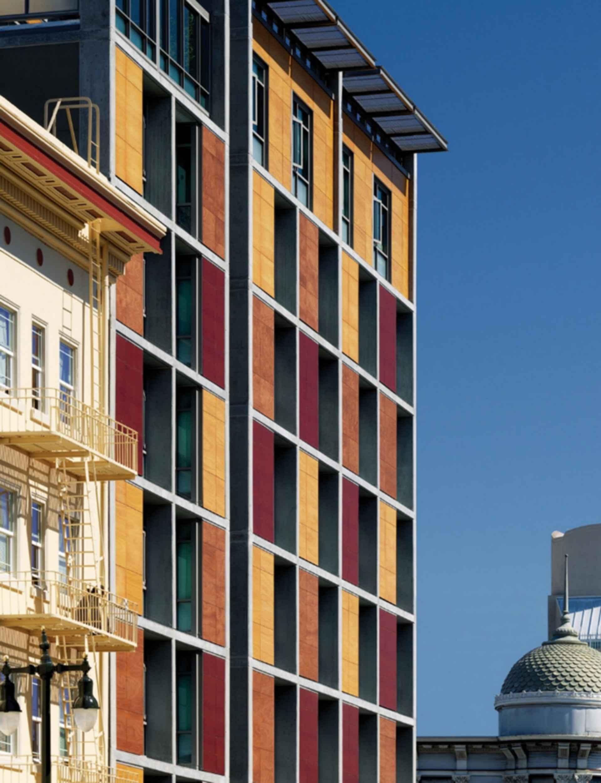 Plaza Apartments - Facade