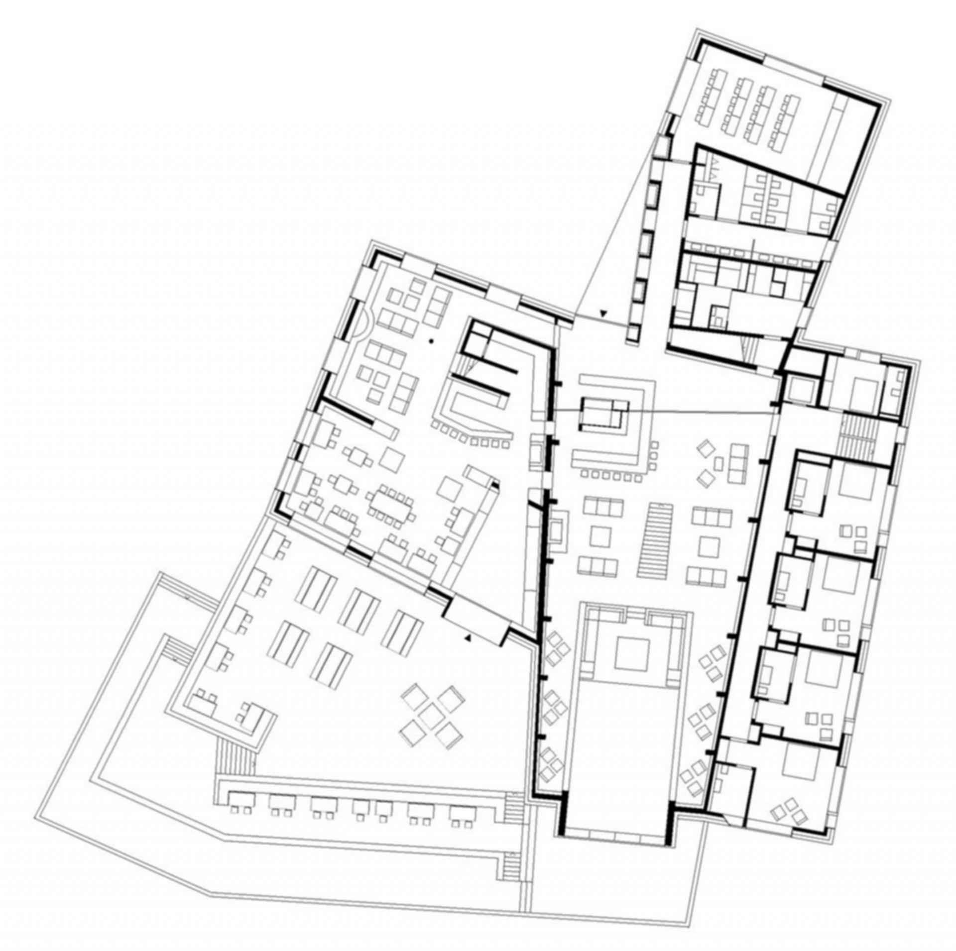Chetzeron Hotel - floor plan