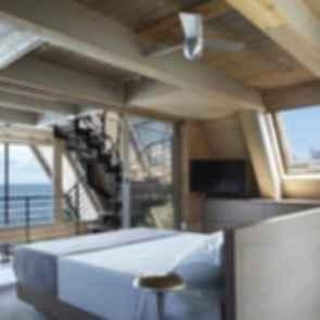 A-Frame ReThink - Interior Bedroom