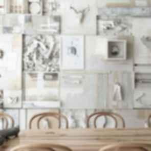 Hueso Restaurant - Interior Wall