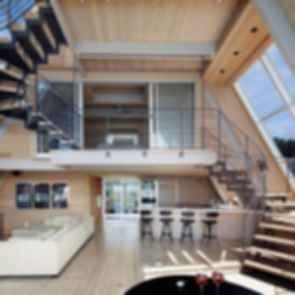 A-Frame ReThink - Interior Lounge