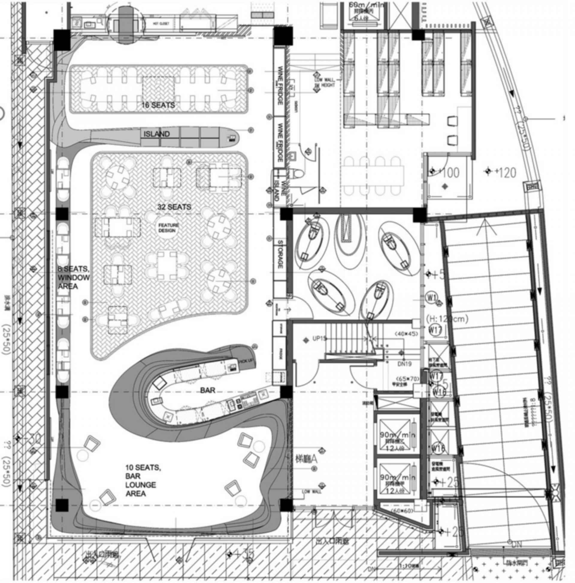 Raw - floor plan