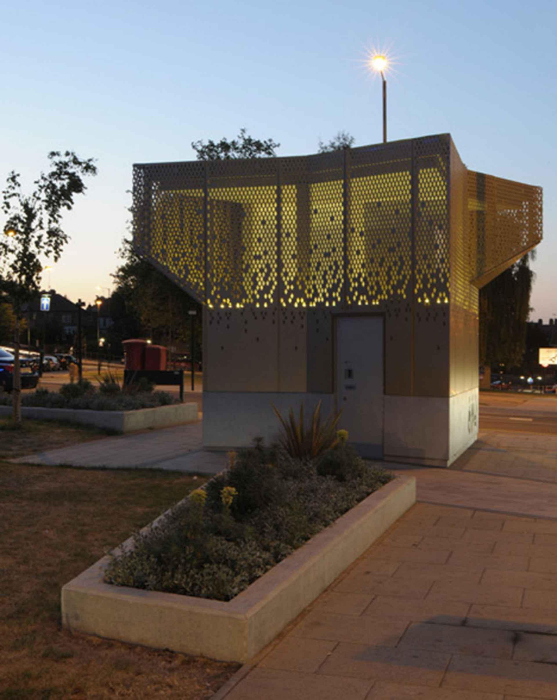Wembley WC Pavilion - exterior