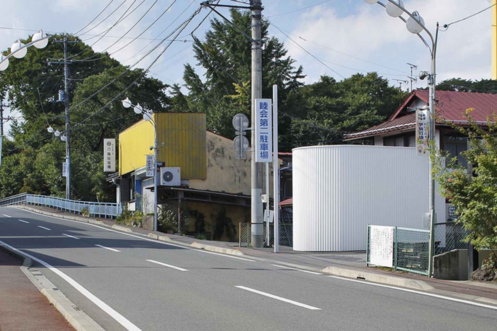Isemachi Public Toilet - exterior/landscaping