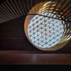 Antinori Winery - interior/window