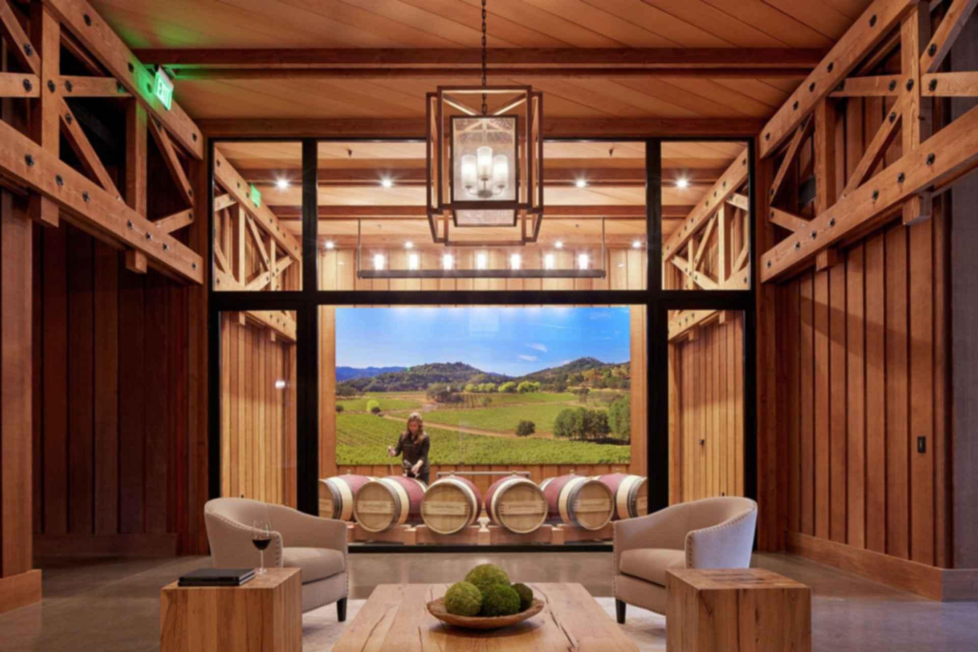 Joseph Phelps Vineyards - Interior