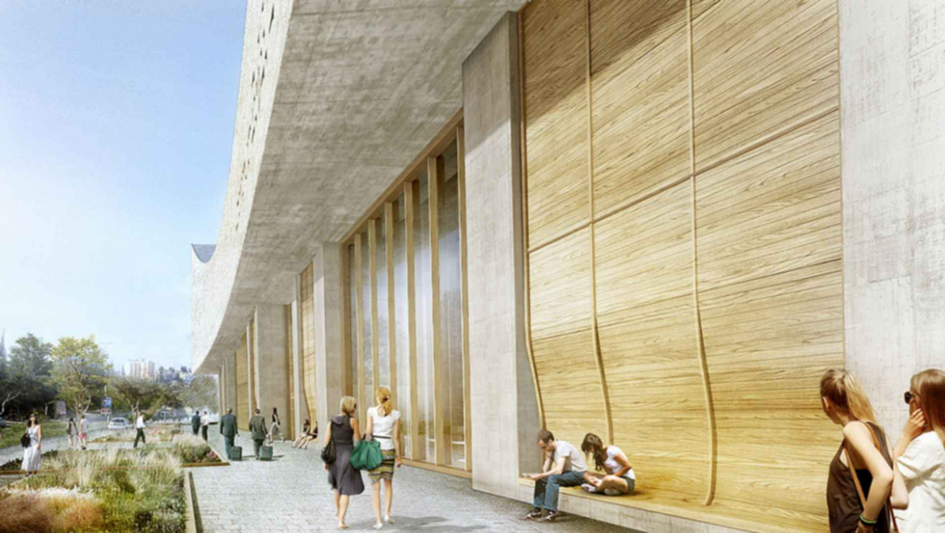 National Library of Israel - concept design