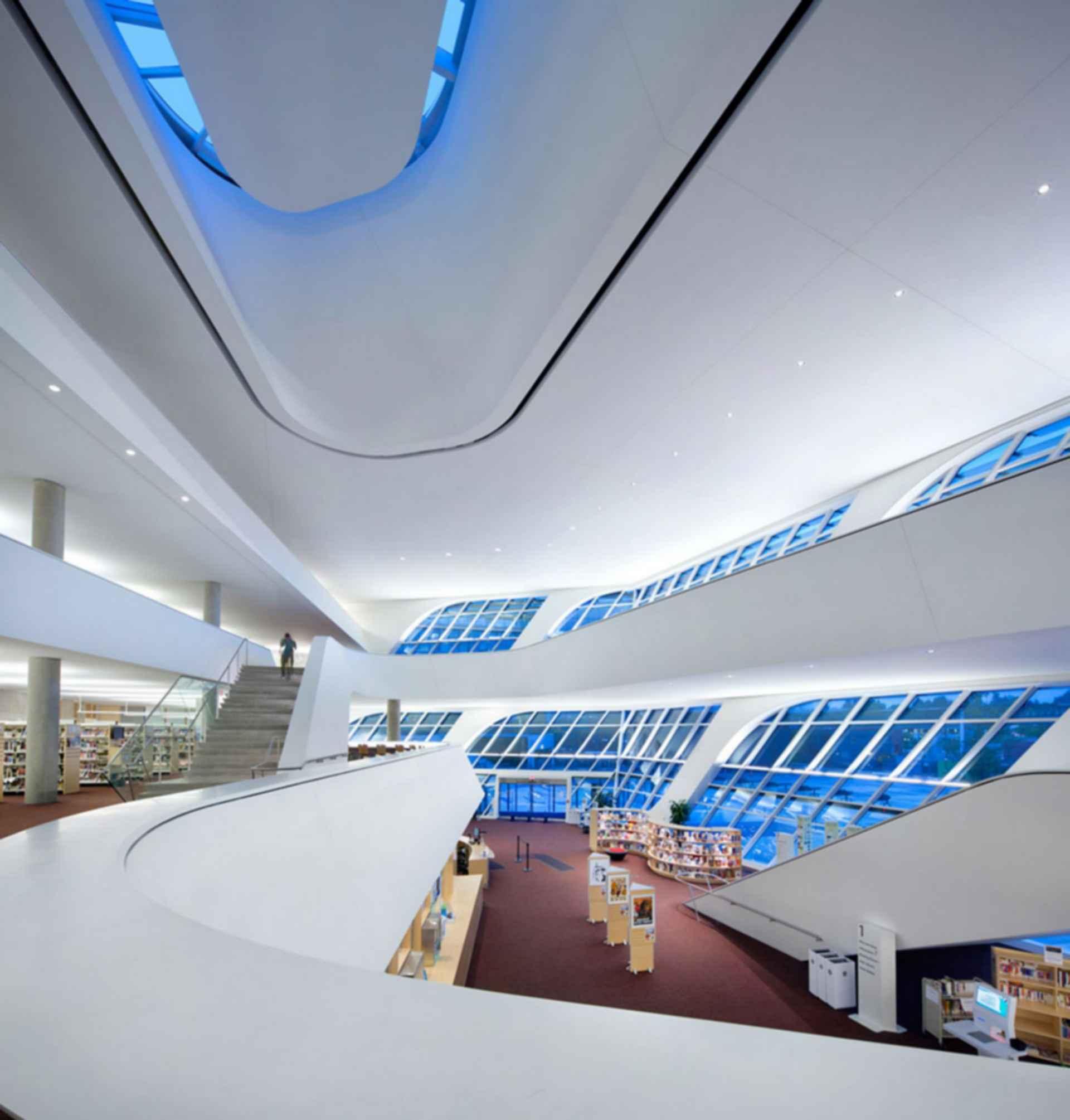 Surrey City Center Library - interior