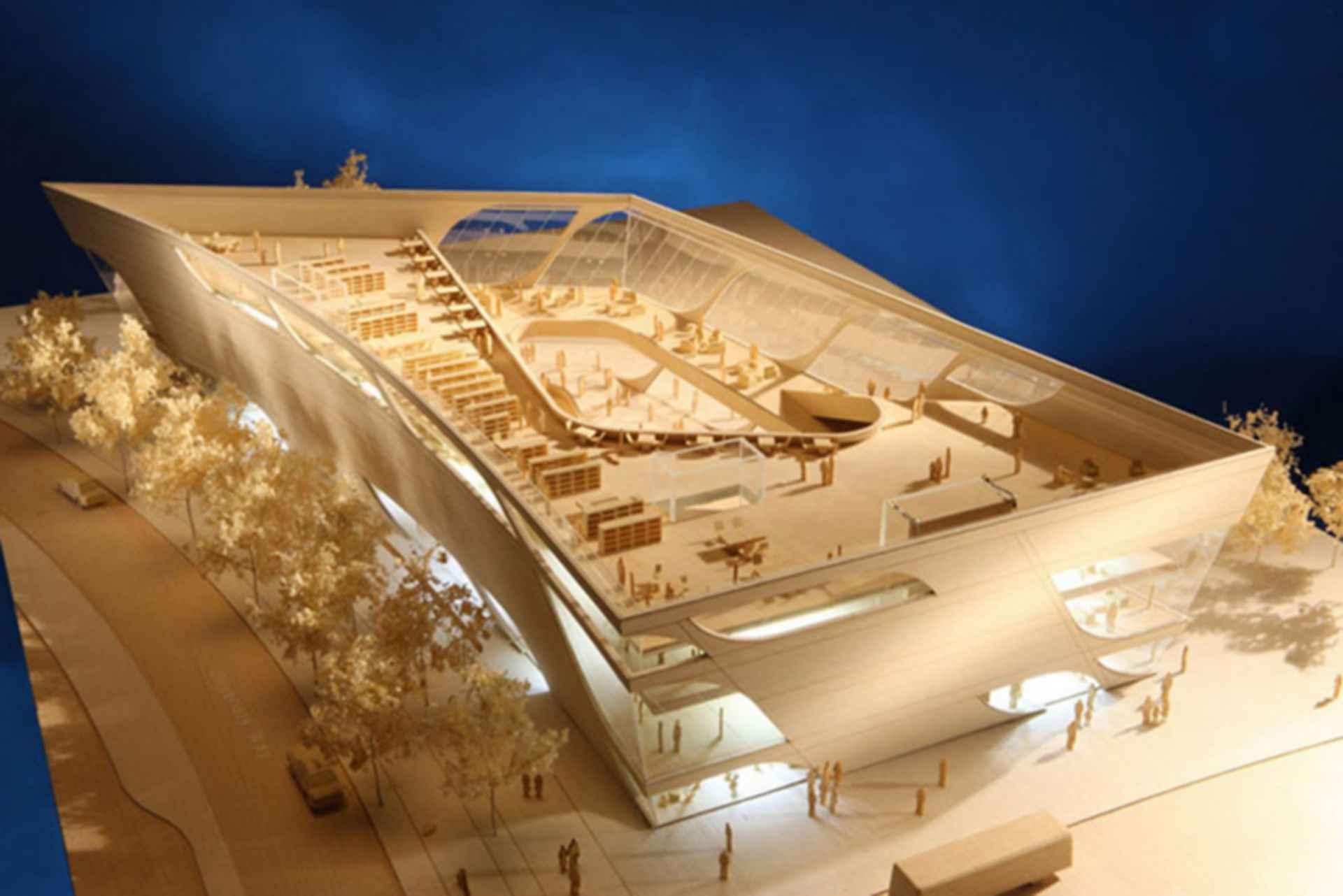 Surrey City Center Library - concept design