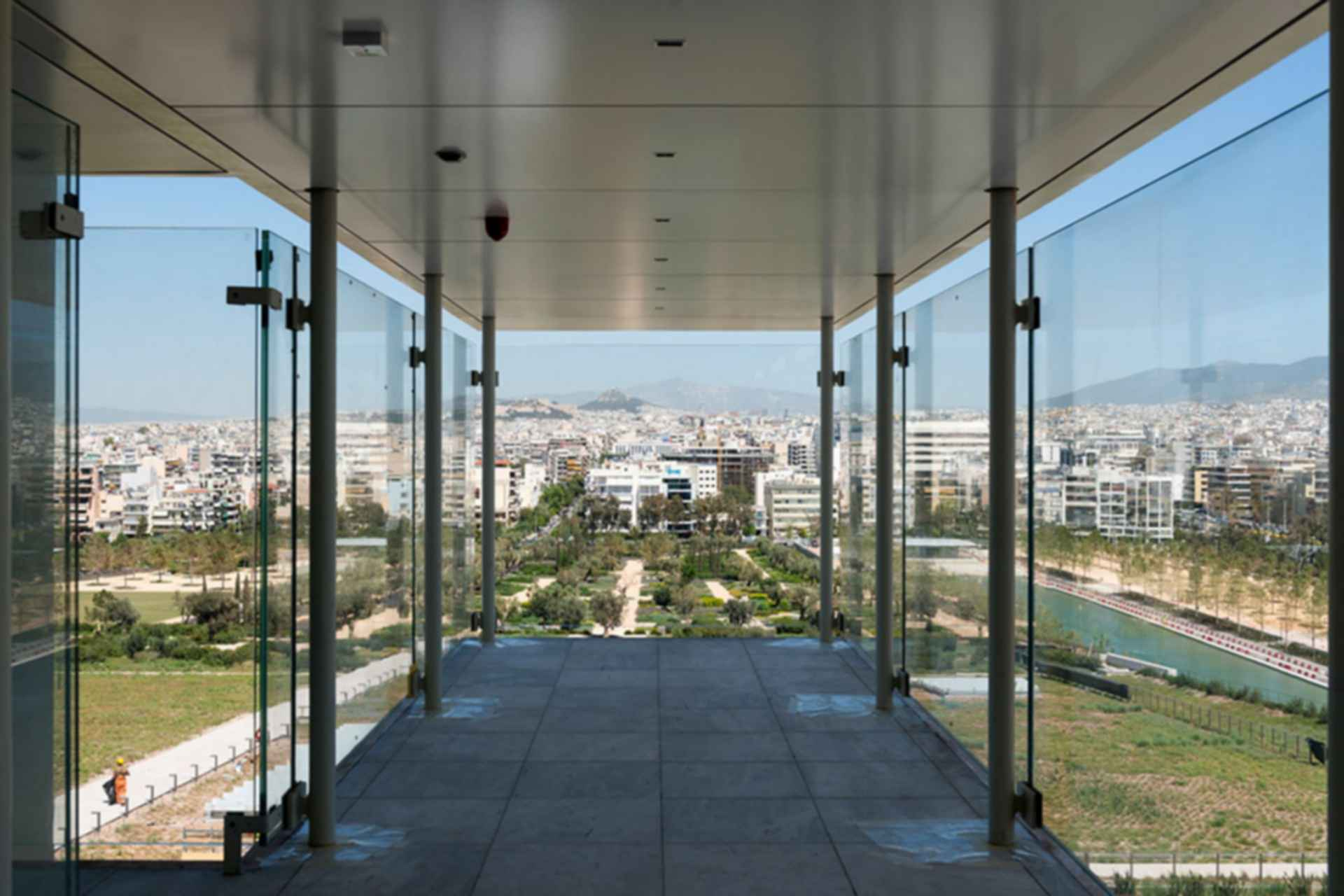 Stavros Niarchos Cultural Foundation - exterior
