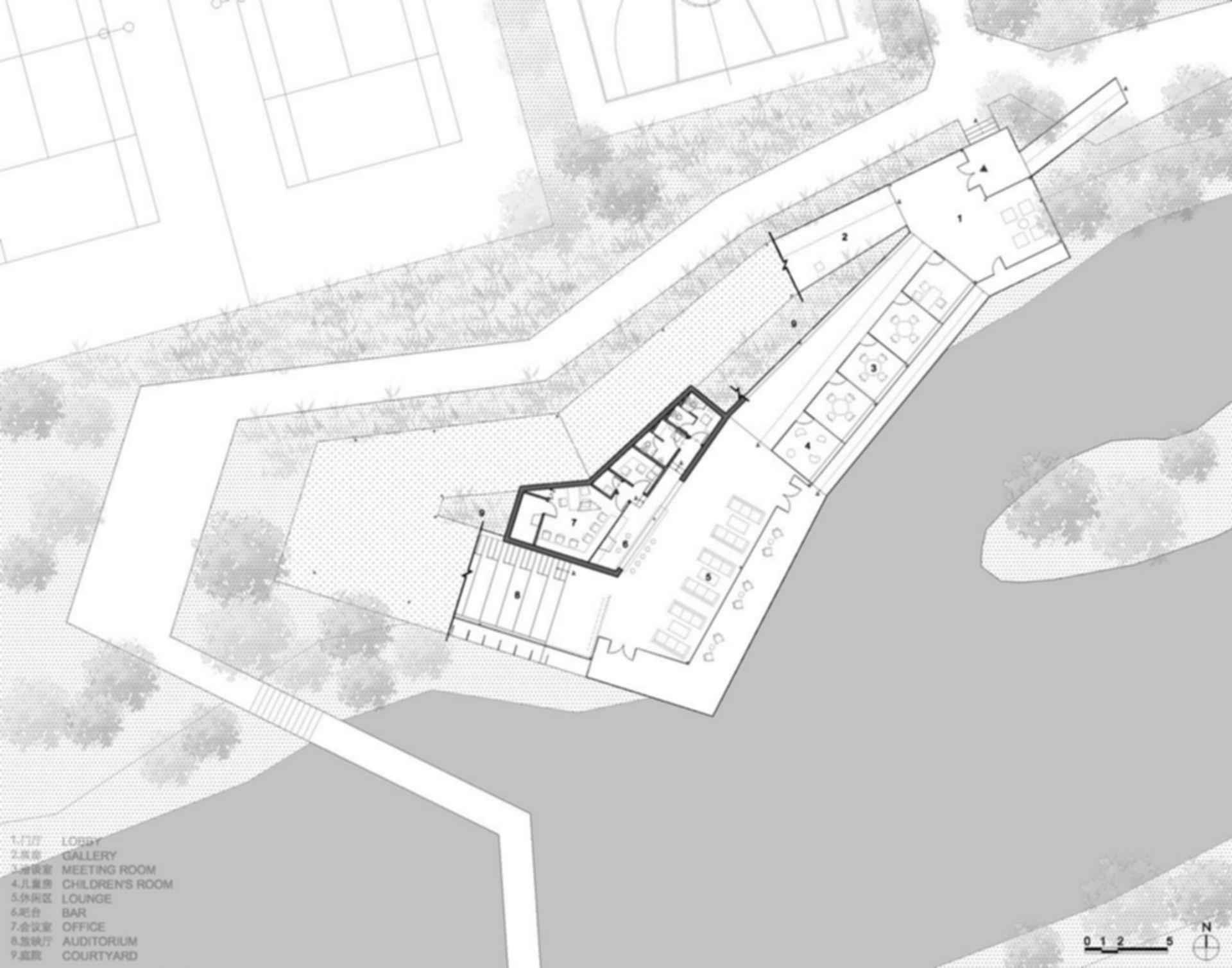 Riverside Clubhouse - floor plan