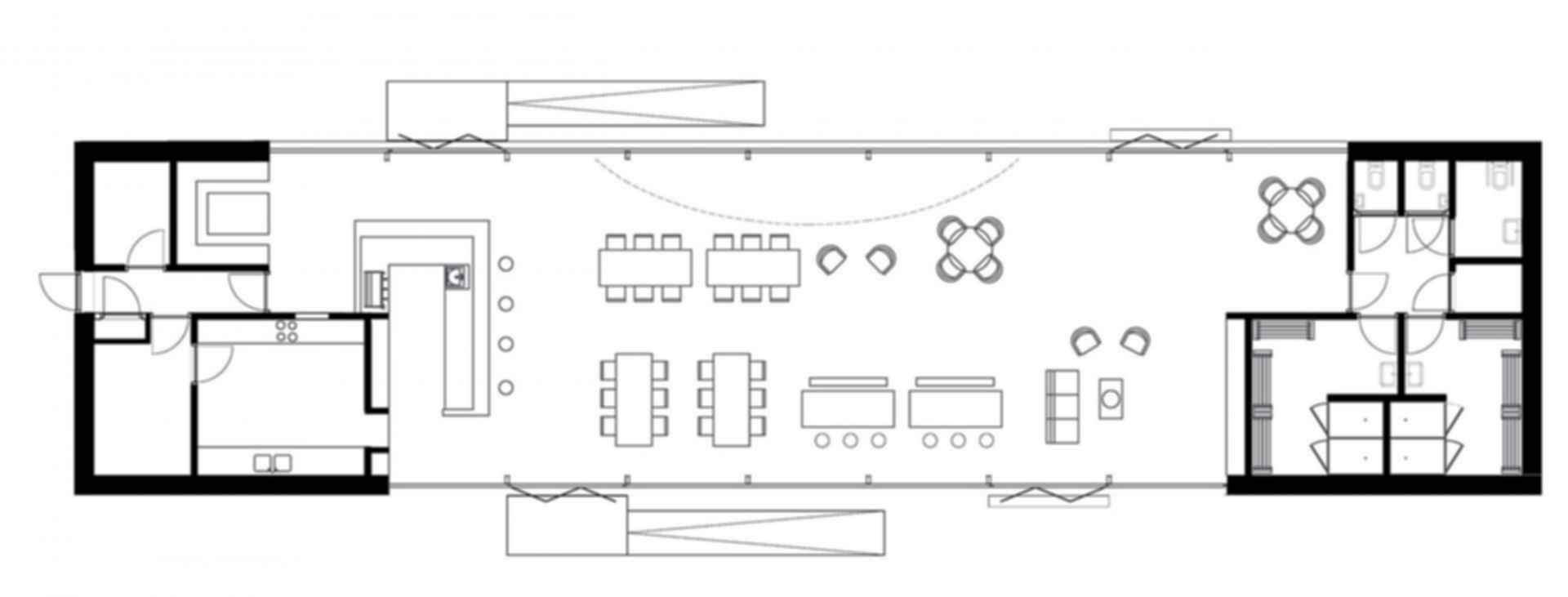 The Couch - floor plan