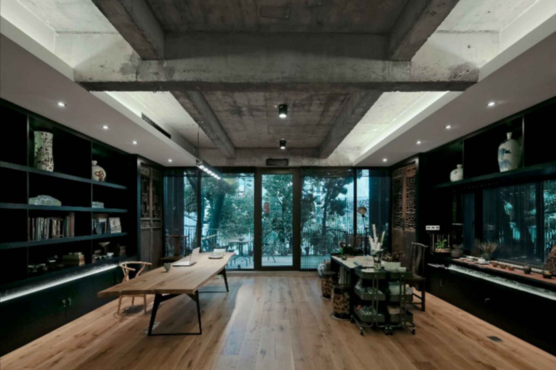 Ceramic House - interior