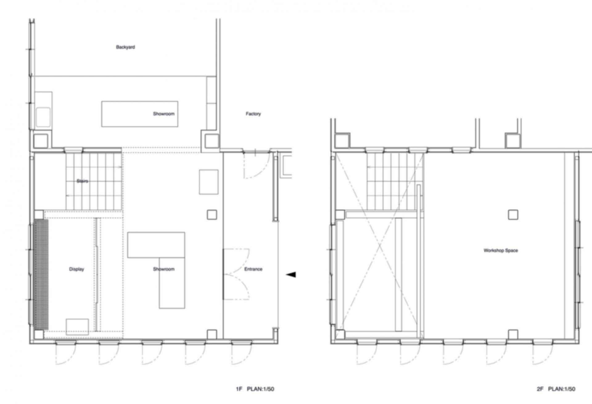 Tadafusa Factory - floor plan
