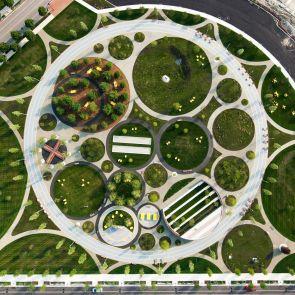 Philadelphia Navy Yards - Central Green - exterior/birds eye view
