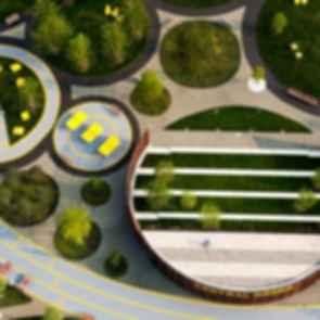 Philadelphia Navy Yards - Central Green - exterior
