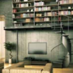 Concrete Home Library