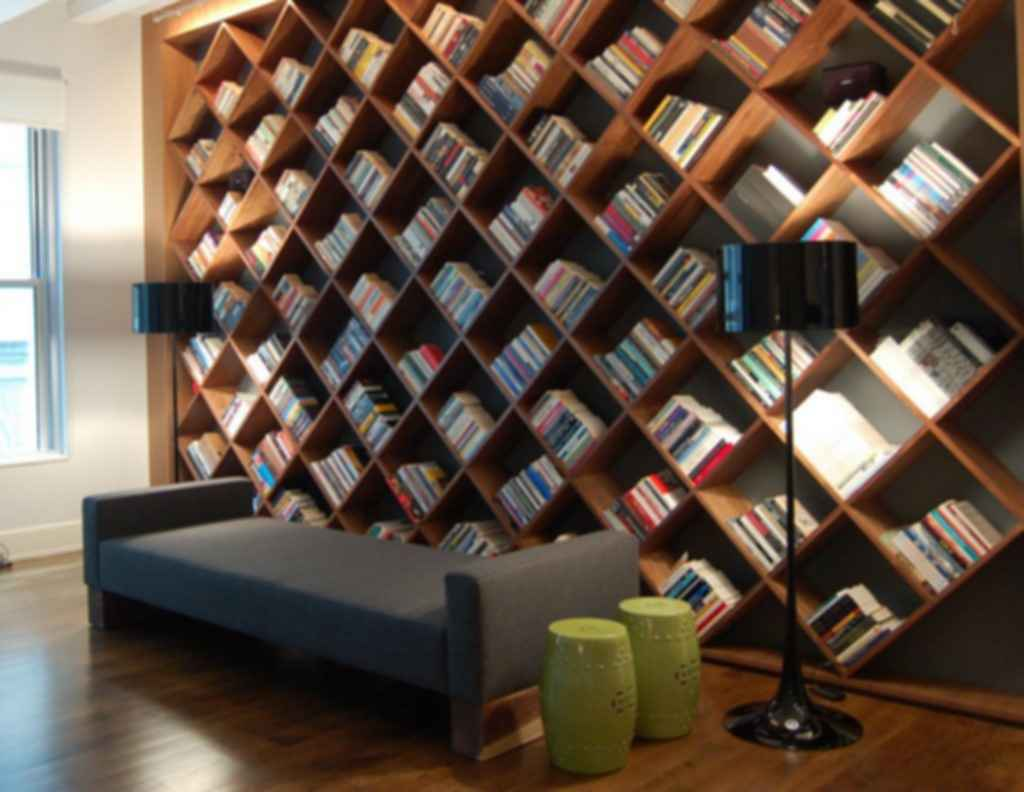 Geometric Home Library