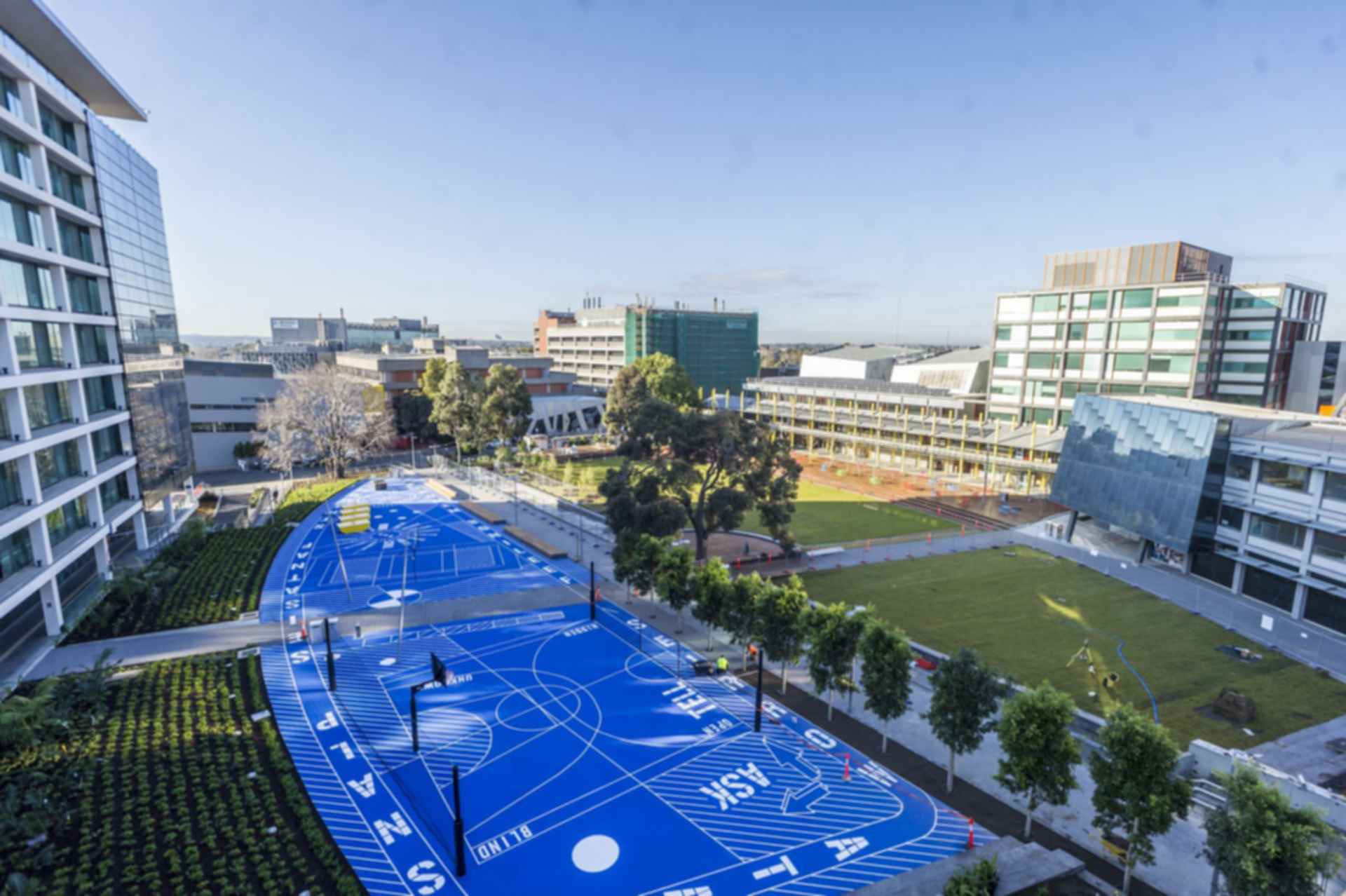Caulfield Campus Green - exterior