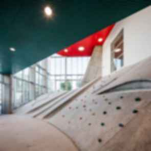Kube Community Centre - interior