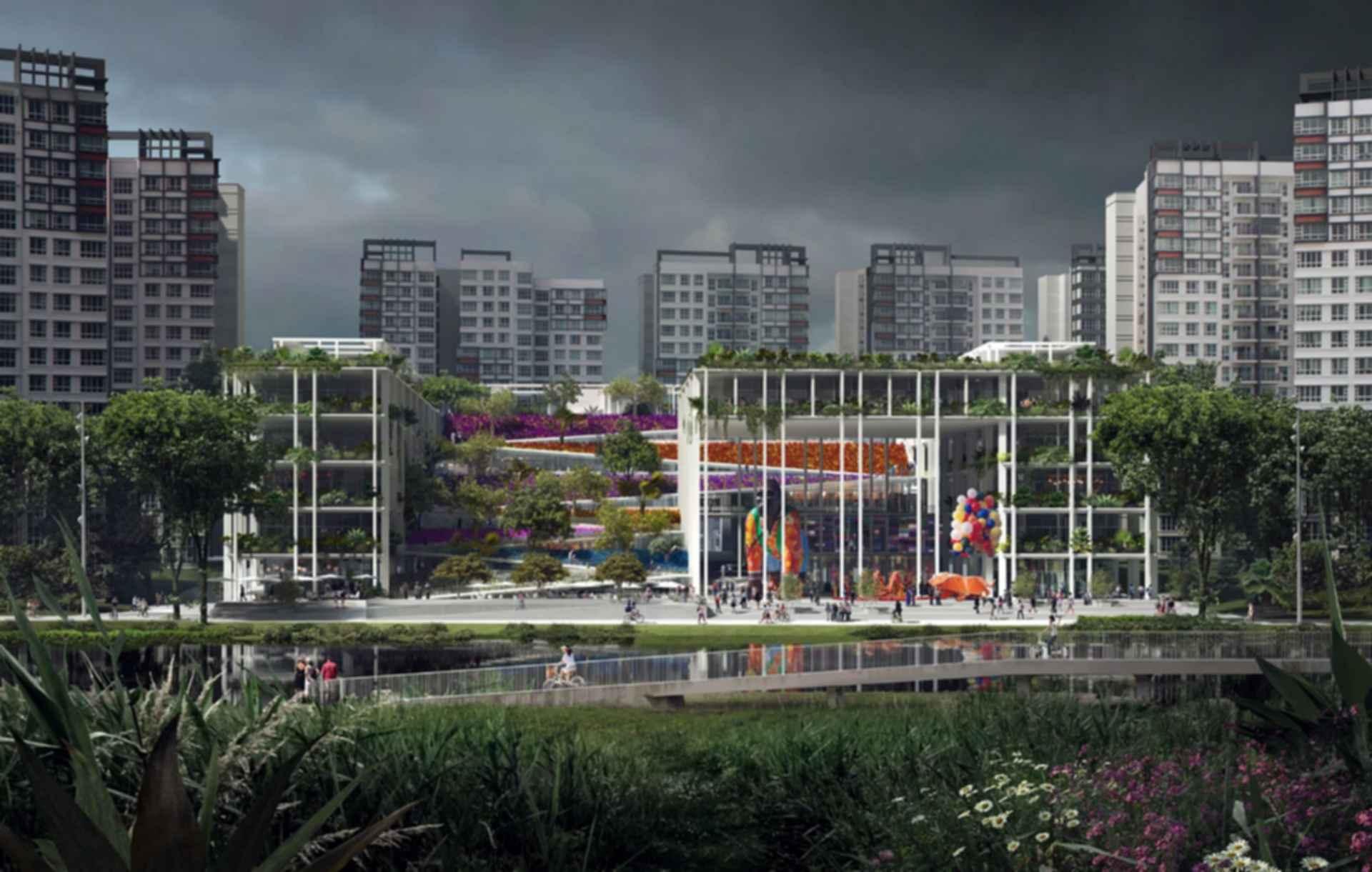 Oasis Terrace - Concept design