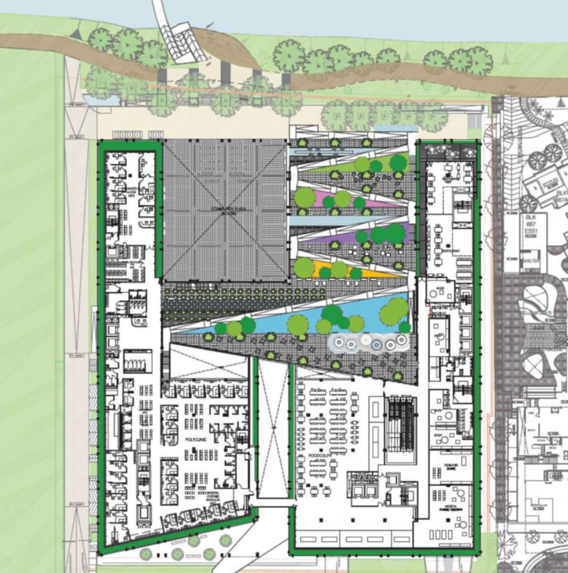 Oasis Terrace - floor plan