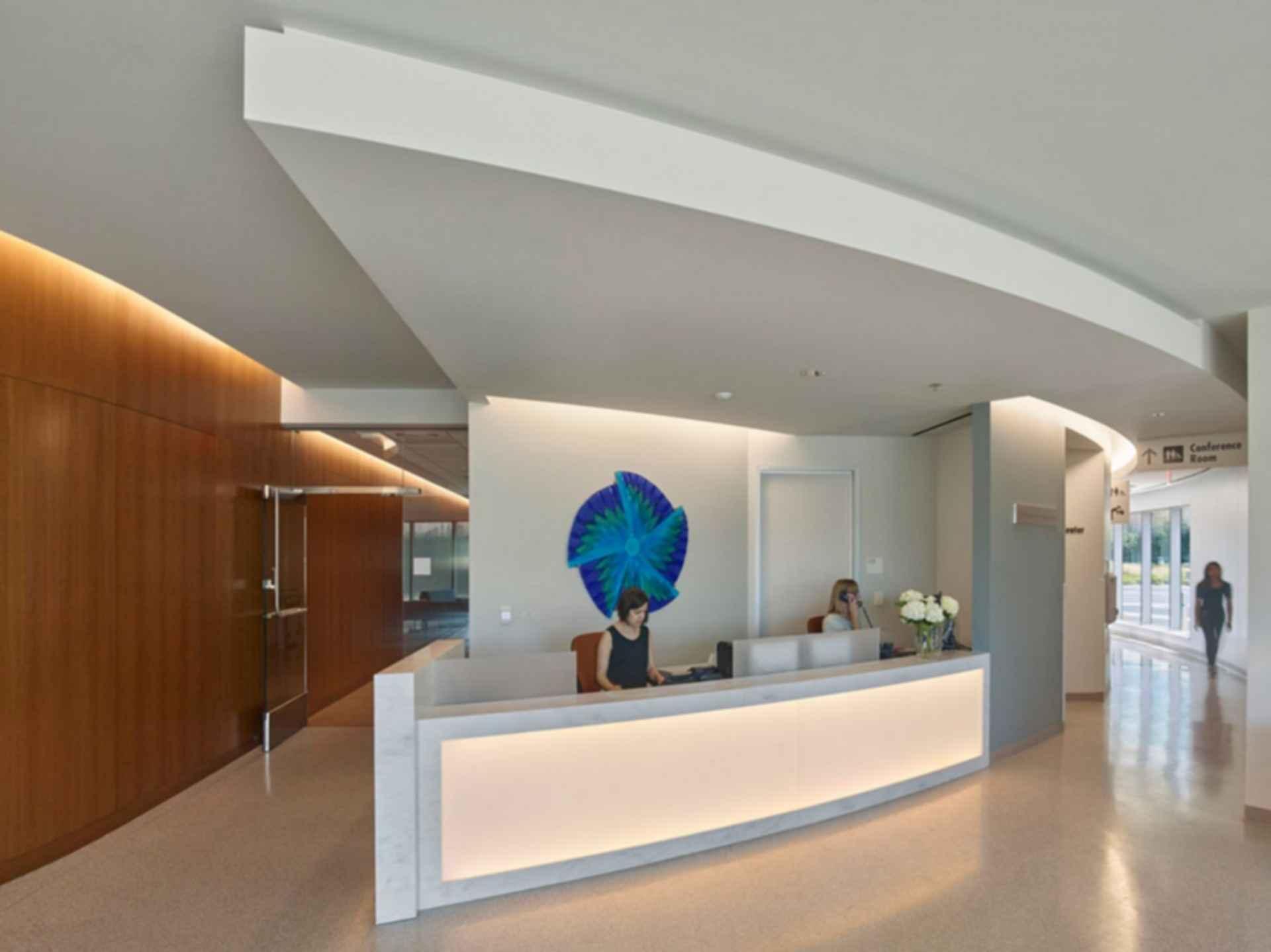 Kaiser Permanente Radiation Oncology Center - interior/reception
