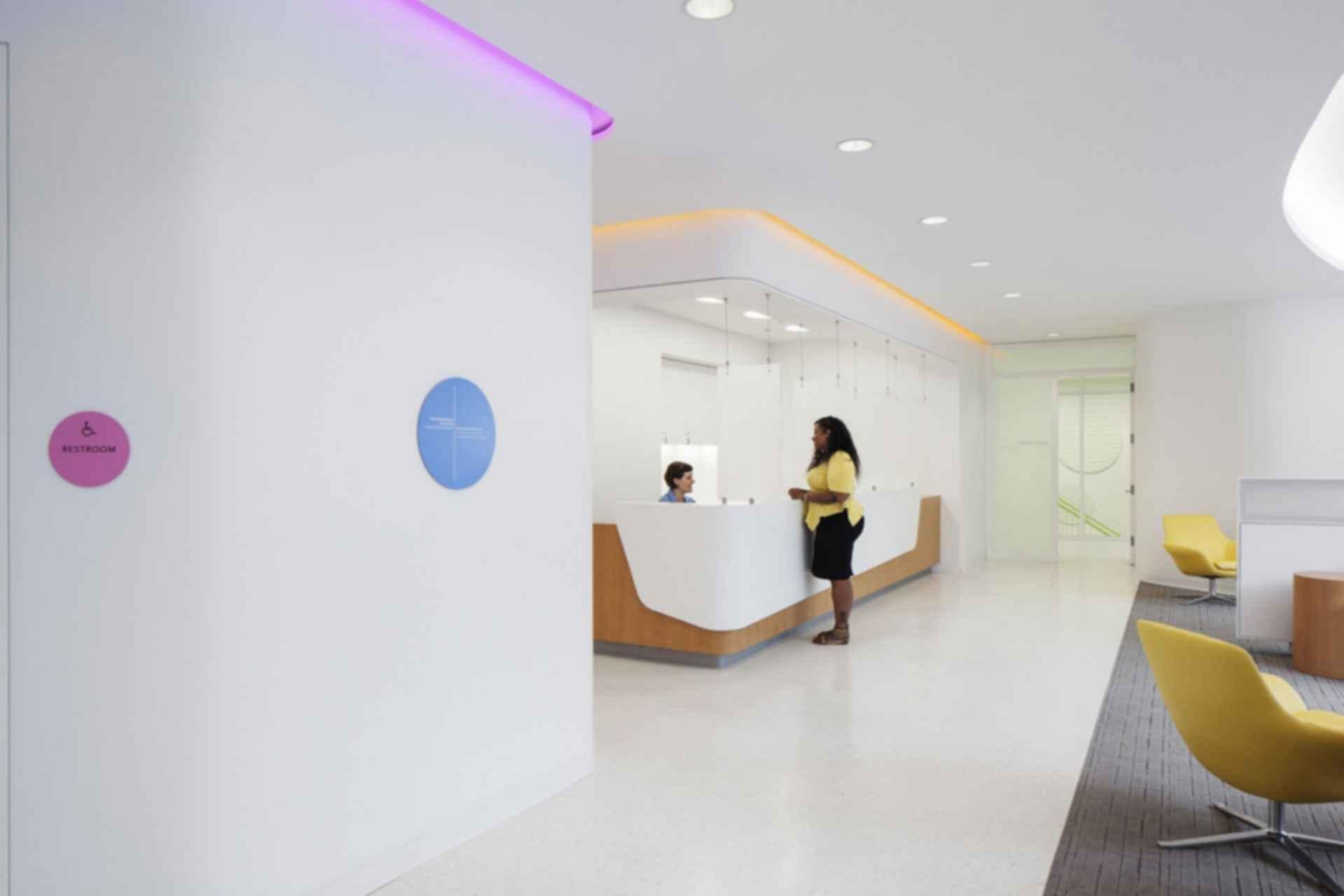 Planned Parenthood - interior/reception