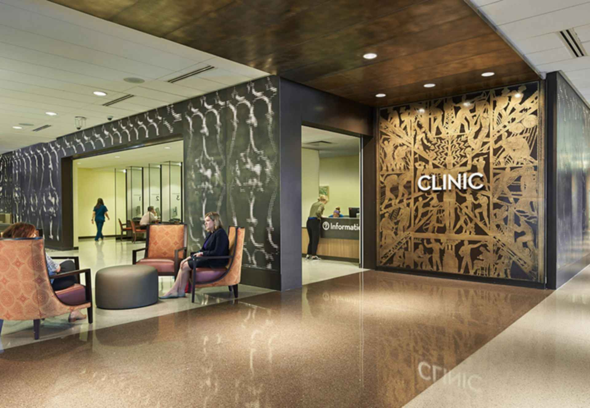 University Medical Center New Orleans - Interior