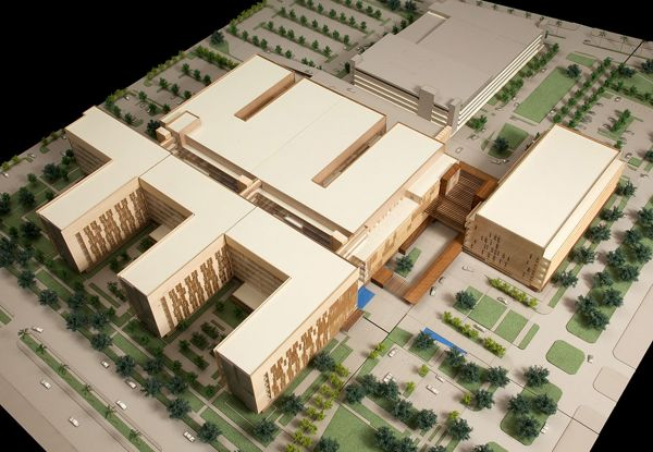 University Medical Center New Orleans Concept Design
