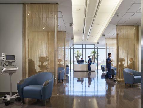 Modern healthcare facilities for University of arizona interior design