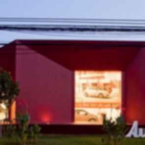 Autostella Showroom - exterior/landscaping