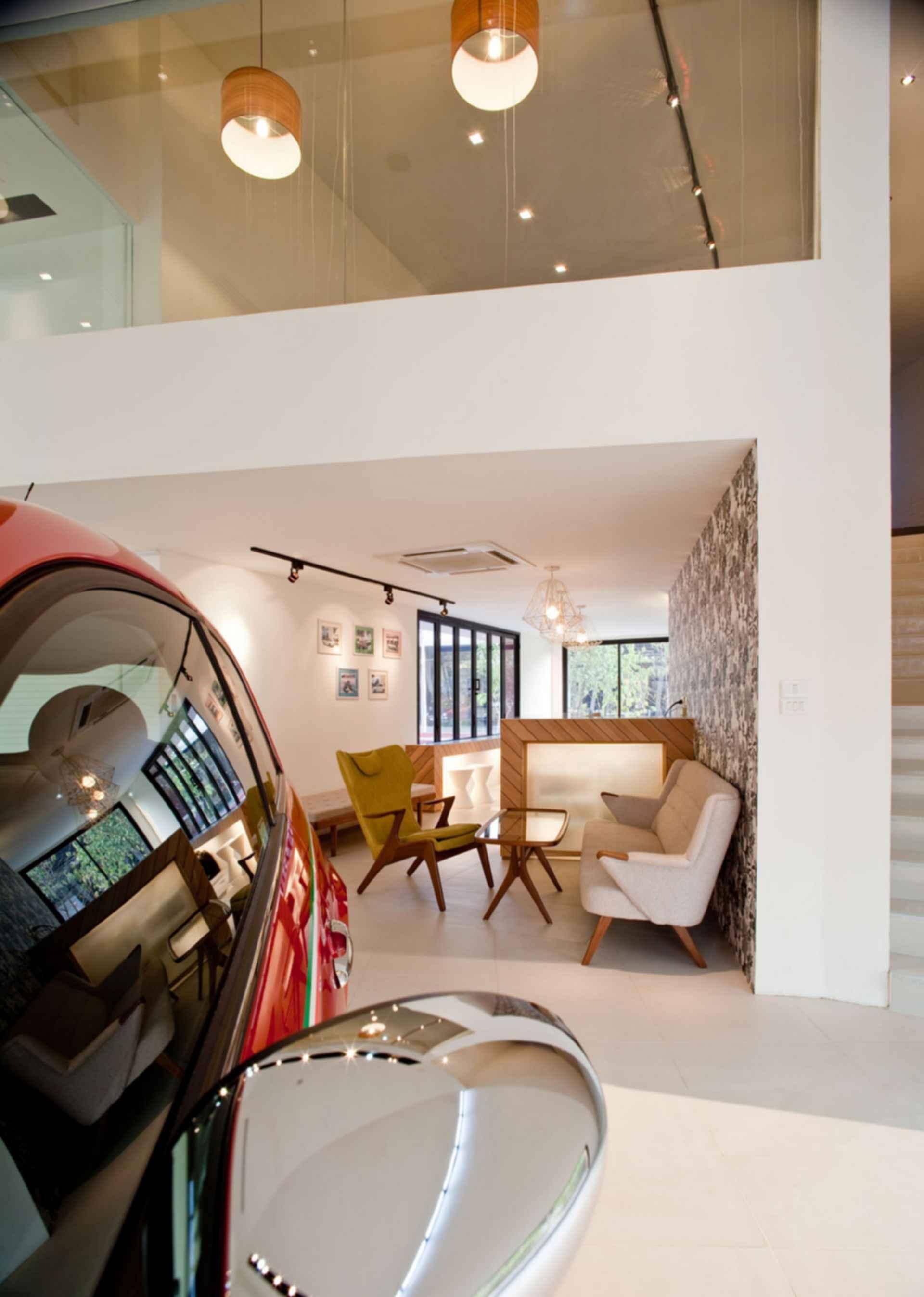 Autostella Showroom - interior