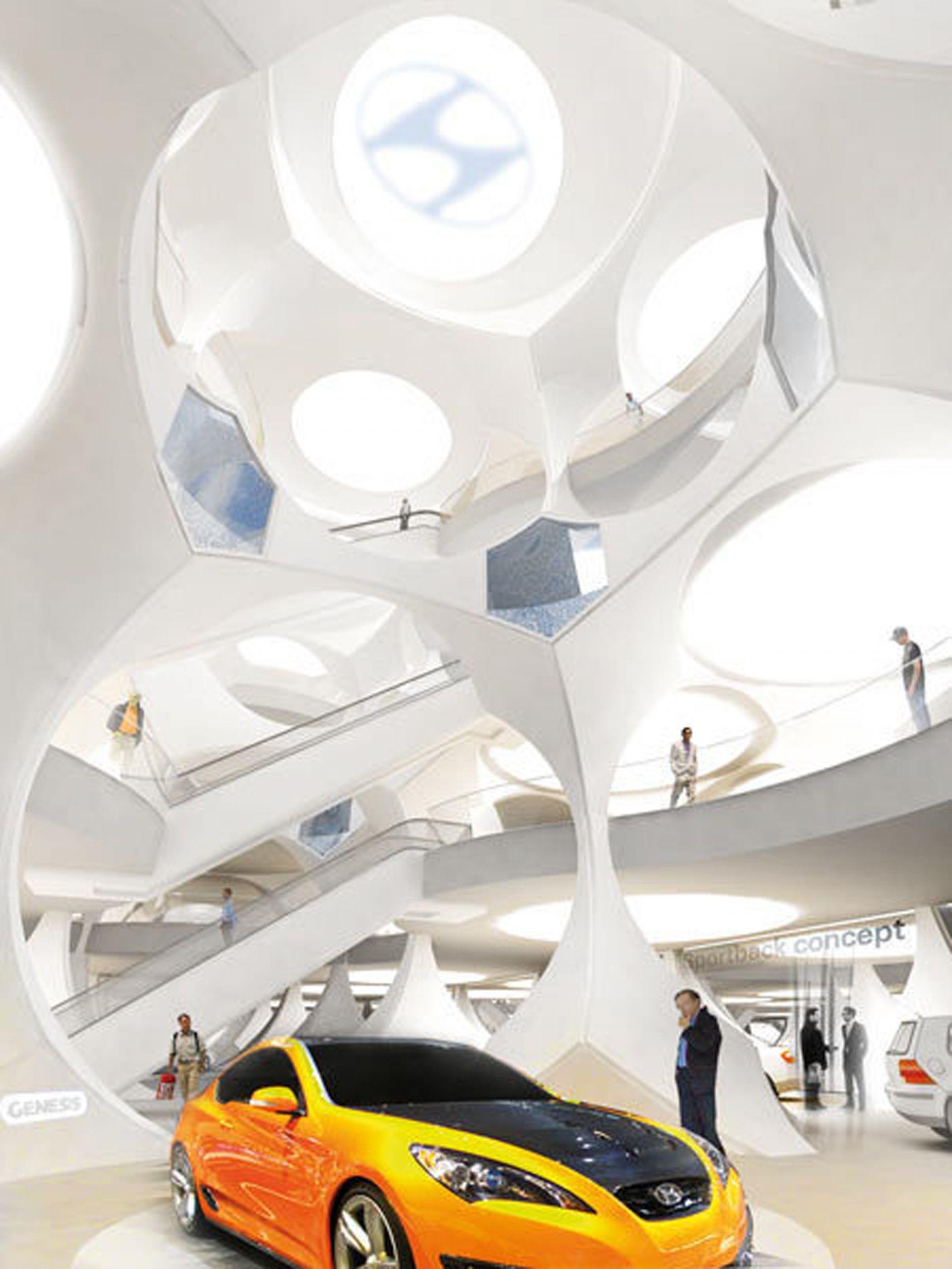 Auto Showroom And Leisure Interior Modlar Com