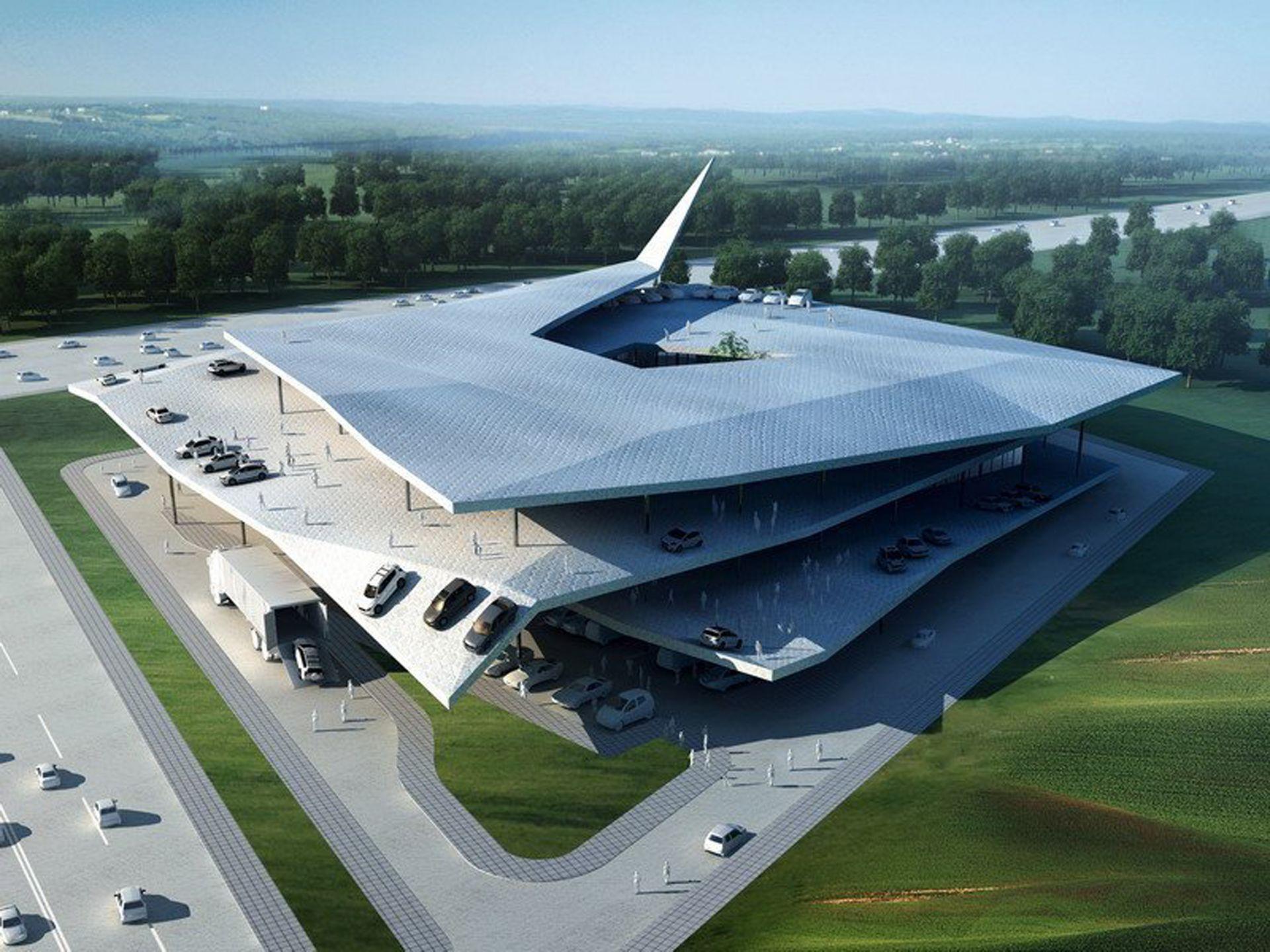 Automobile Museum in Nanjing - concept design - modlar com