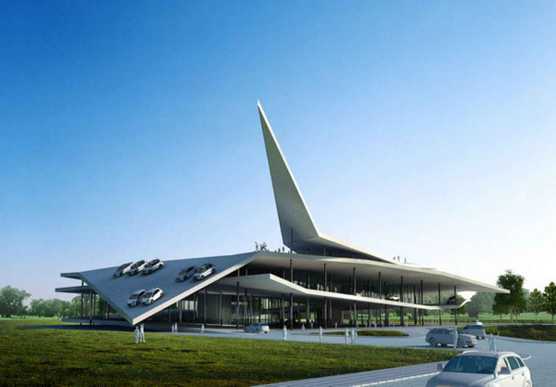 Automobile Museum in Nanjing - concept design