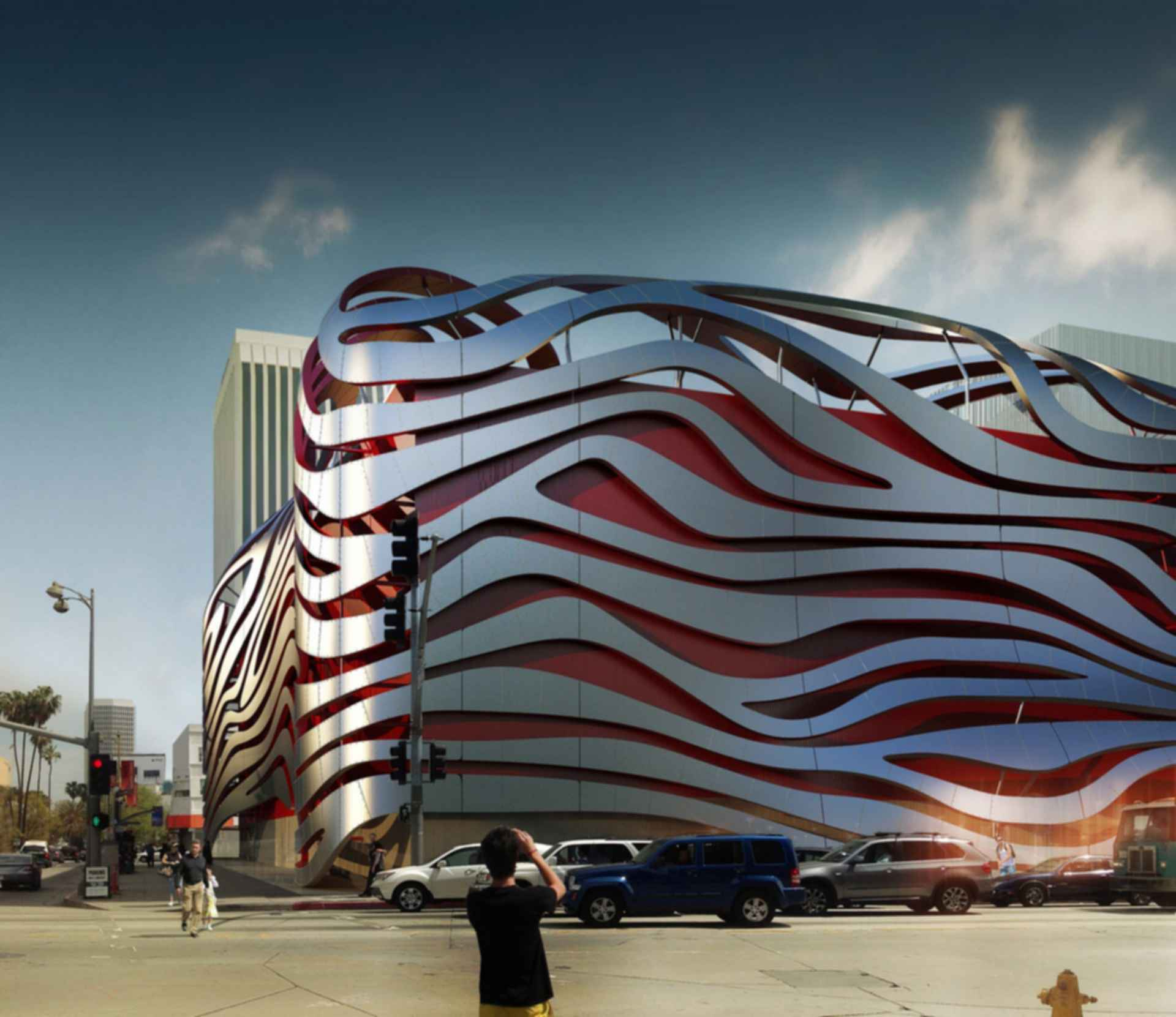 Petersen Automotive Museum - Exterior Concept Design