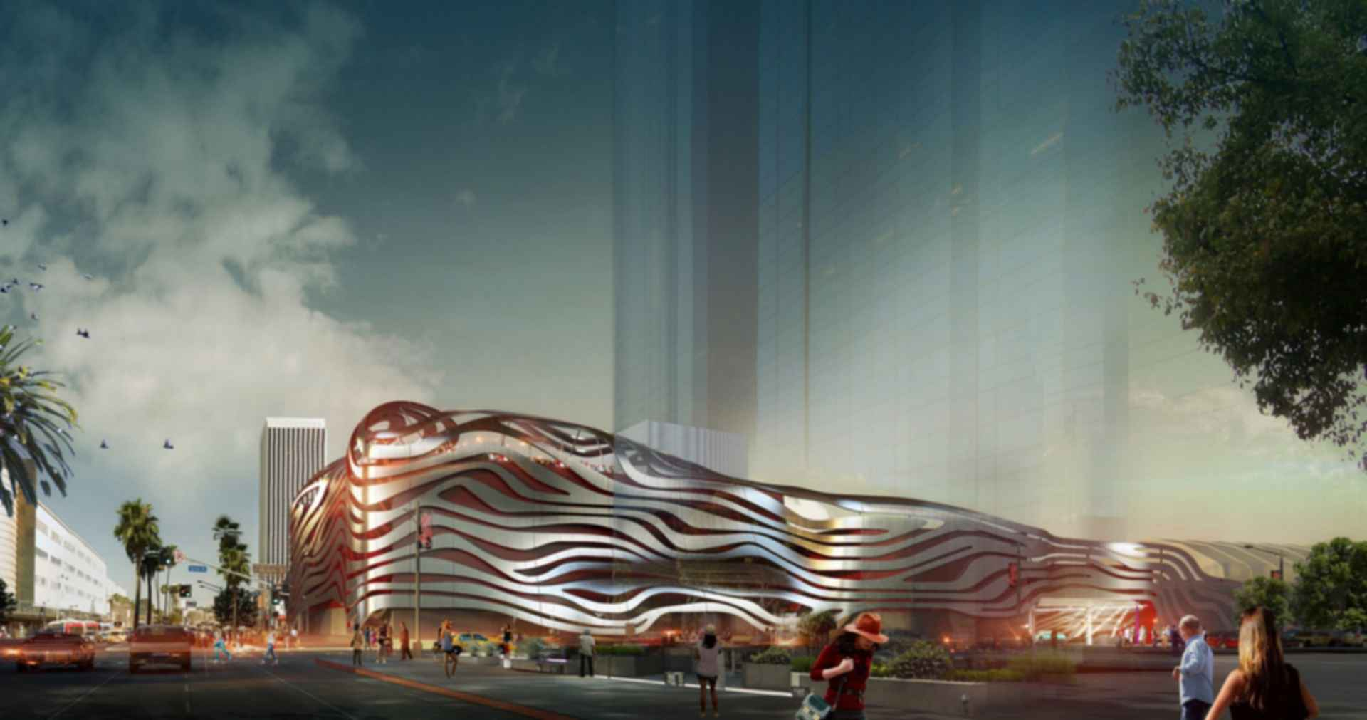 Petersen Automotive Museum - Concept Design