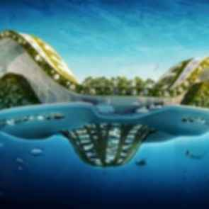 Lilypad: Floating City for Climate Change Refugees - design concept