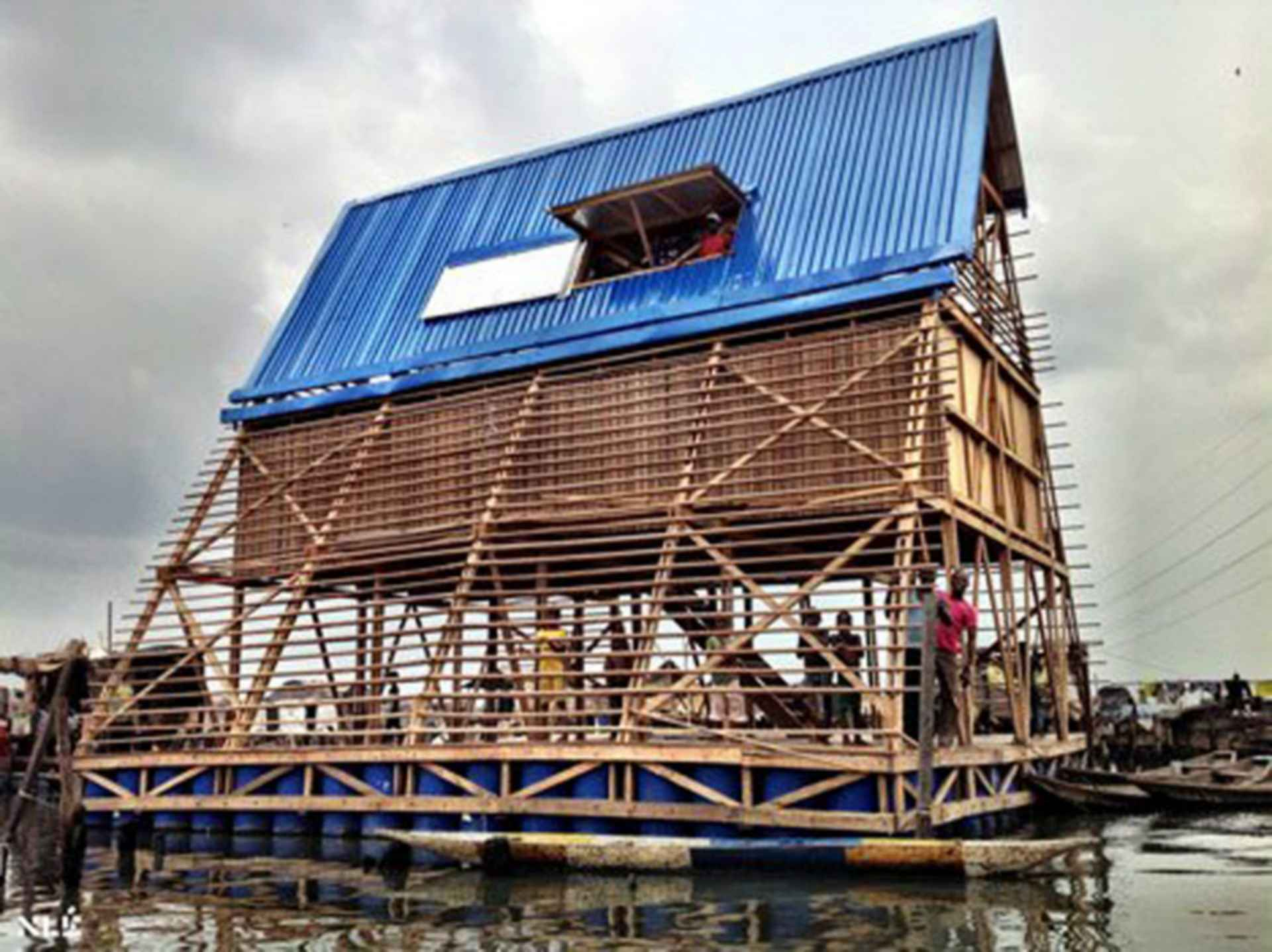 Makoko Floating School - exterior