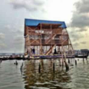Makoko Floating School - exterior