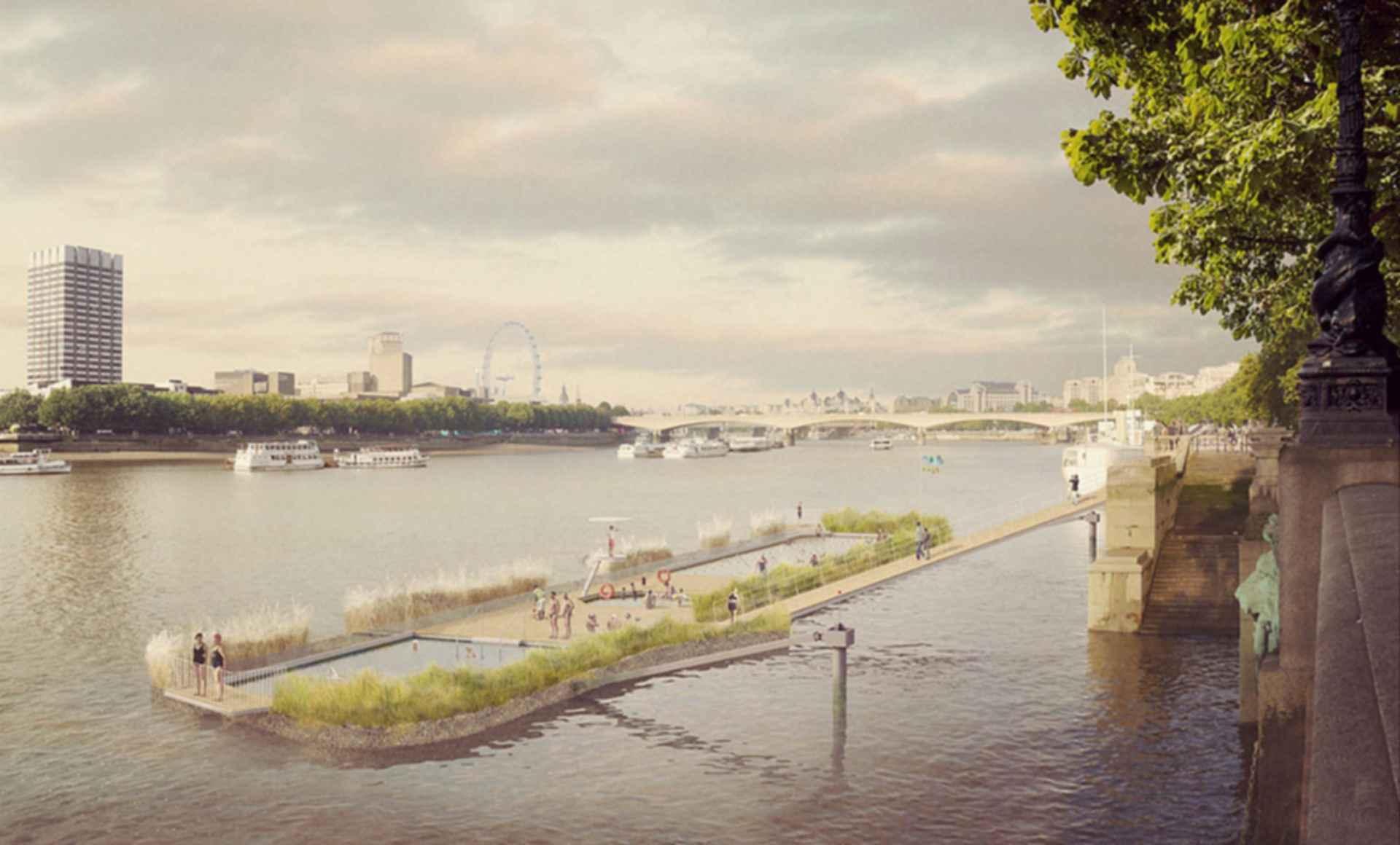 Thames Bath - Concept Design